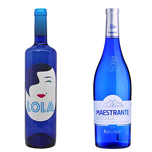 Lola Blanco Y Barbadillo Maestrante - Vino Blanco Semidulce - 2 Botellas De 750 Ml