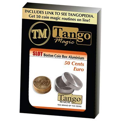 Slot Boston Box 50 cent Euro Aluminum (w/DVD) by Tango - Trick (A0016)