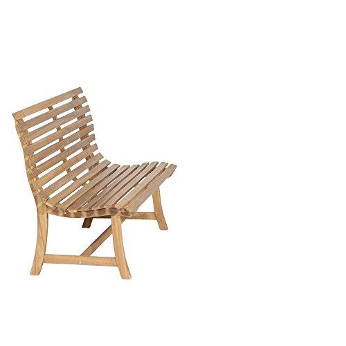 Siena Garden 2er Bank Santana, 67,5x140x92,5cm, Akazienholz, geölt in natur, FSC 100% - 5