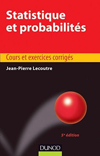 Statistique et probabilits - 5e dition (Statistiques t. 1)