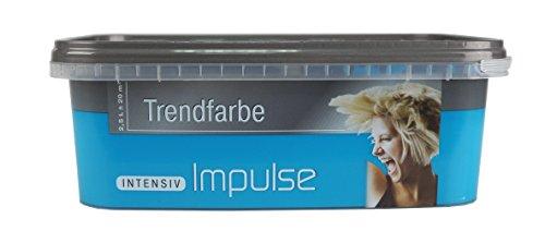 Preisvergleich Produktbild Schulz Wandfarbe, Impulse Intensiv, Farbton turquoise, Premium Qualität, 2,5 L