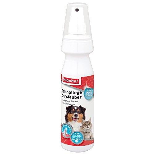 Zahnpflege Zerstäuber für Hunde & Katzen | Zur gründlichen Zahnreinigung | Zähneputzen ohne Bürste | Für Hunde & Katzen | 150 ml