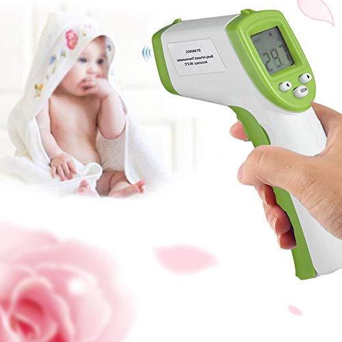 Navigatee Termometro per Bambini - Termometro elettronico Senza Contatto Corpo Termometro Digitale a infrarossi Lettura istantanea Display LCD Termometro per Bambini Fronte per Il Bambino