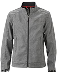 JAMES & NICHOLSON - Veste softshell style classique - ville - sportswear - JN1088 - Homme