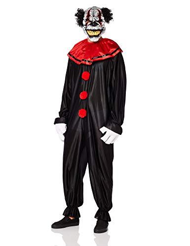 Aptafêtes–cs97502–costume da clown spaventoso, taglia unica