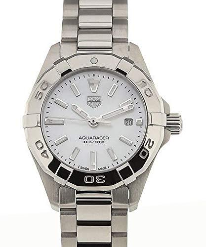 Tag Heuer Aquaracer da donna 27mm bracciale in acciaio orologio al quarzo WBD1411.BA0741