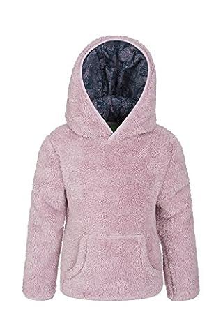 Mountain Warehouse Veste polaire Enfant fille Garçon Junior Coupe-vent capuche