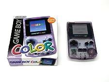 Console Nintendo Gameboy Color Violet Transparent (Version Japonaise)
