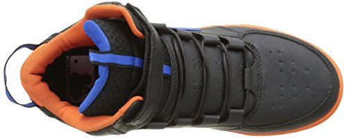 MLB Jungen Waigu Sneaker Noir (Black/Vibrant Orange/El Blue 174)