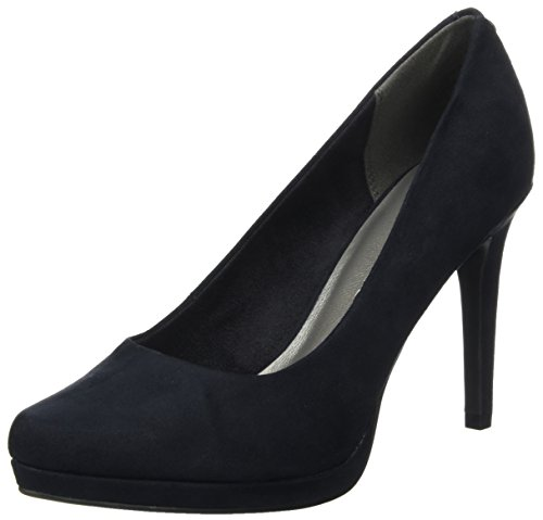 Tamaris Damen 22446 Pumps, Blau (Navy), 38 EU
