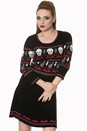 Banned - Robe - Femme Noir