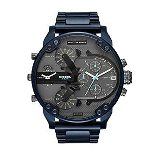 Diesel Herren-Uhren Analog Quarz One Size Edelstahl 87550532 (B07G45VD3Y) | Amazon price tracker / tracking, Amazon price history charts, Amazon price watches, Amazon price drop alerts