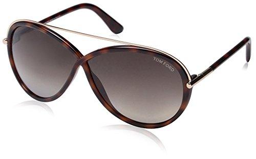 Tom Ford Sonnenbrille FT0454_52K (64 mm) Marrón, 64