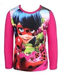 MIRACULOUS LADYBUG - Camiseta de Manga Larga - para niña
