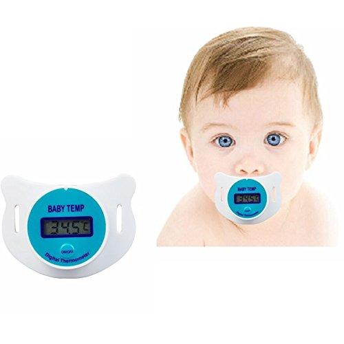 Interesting® Heißen tragbaren digitalen Dummy Schnuller Schnuller Baby Kleinkind Kind oralen Thermometer (Quecksilber-thermometer Orale)