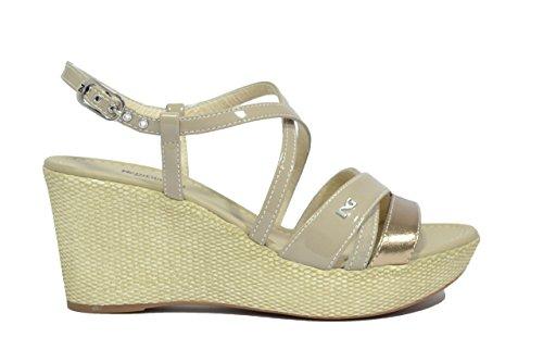 Nero Giardini Sandali zeppa sabbia 5621 scarpe donna P615621D 36