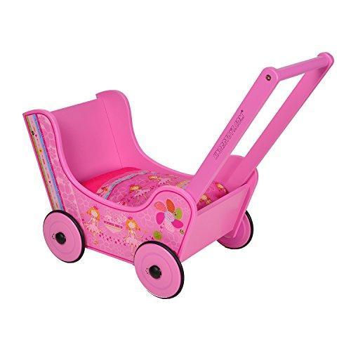 Preisvergleich Produktbild Knorrtoys 69904 - Puppenholzwagen Walky pink