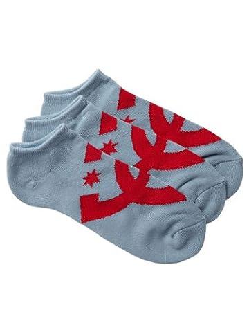 DC Shoes Chaussettes Suspension 2 No Show pour homme Bleu Bleu fumé SX1