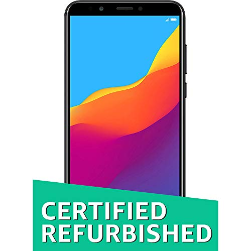 Honor 7C (CERTIFIED REFURBISHED) Black (5.99″ FullView Display, 32GB)