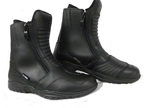 Oxford Warrior, stivali impermeabili da moto, colore nero