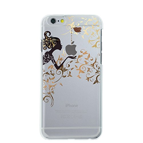 Vanki® Coque iPhone 6/6S, Motif Totem loup TPU Souple Etui de Protection Silicone Case Soft Gel Cover Anti Rayure Anti Choc pour Iphone6/6S 4.7