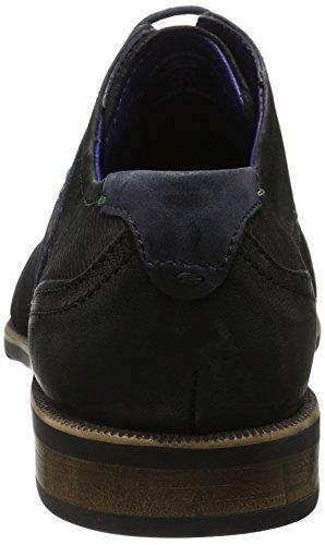 Bugatti 311189033500, Derby Homme Noir (Schwarz 1000)