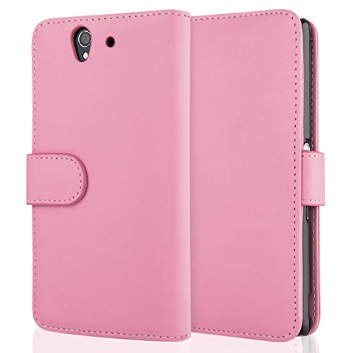 sony-xperia-z-pu-leather-wallet-cover-light-pink