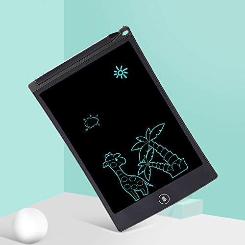 Moerc Tragbare Elektronik Digitale handschrift Tablet Zeichnung grafikkarte LCD schreiben tabletten Kinder Geschenke Kinder schreiben Bord smart Doodle zeichenbrett (Color : Black) - Runde Kunststoff-platten 23