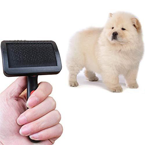 Bürsten Kamm Antistatische Hundebürste Haustier Hundekamm Langes Haar Verschütten Pinsel Welpen Katze Hund Massage Badebürste Hundesalon Werkzeug, M -