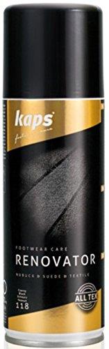 Kaps Renovator - Schuhfarbe Spray & Imprägnierspray, beige, 200 ml (Wildleder Freizeitschuhe Beige)