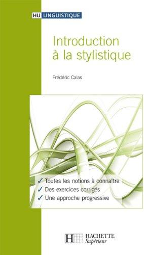 Introduction à la stylistique (HU Linguistique)