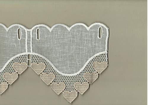 Affreschi tessili mantovana tirolese cuori macramè