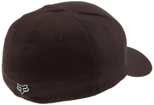 Fox Herren Cap Legacy FelxFit Hat Dunkelbraun