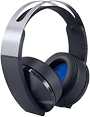 Sony PlayStation 4 Platinum Wireless Headset, Black/Silver (PS4)