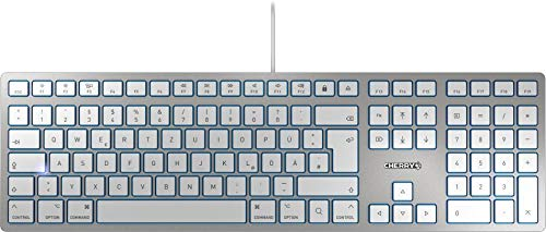 CHERRY KC 6000 Slim for Mac Tastatur,