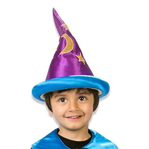 kostüm Kinder - Violett und Blau (3-8 Jahre alt) Slimy Toad (Toad Kostüm Hut)