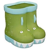 Z&Q BROS LTD Fabulous Decorative Feature Kids Ceramic Welly Planter Flowers Pot Garden Ornament -Crocodile