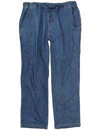 Jeans de jogging bleu clair by Abraxas grandes tailles jusqu'au 12XL