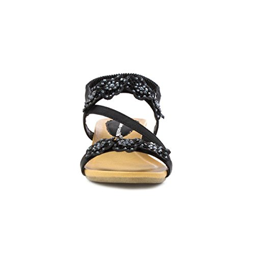 Cushion Walk , Damen Sandalen Schwarz