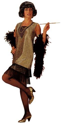Hilmar Krautwurst Cesar K297-002 - Costume per travestimento in stile Charleston, Donna, 52-54