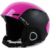 Unbekannt FEIYU Ski Helm Cabrio Skateboard Helm Mit Quick Adjustment,M