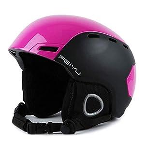 Unbekannt FEIYU Ski Helm Cabrio Skateboard Helm Mit Quick Adjustment