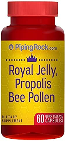 Royal Jelly, Propolis & Bee Pollen 60 Tablets