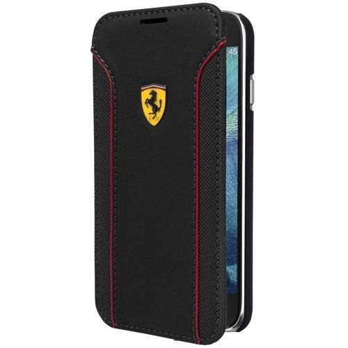 Ferrari Fiorano Buchtyp Hülle für Samsung Galaxy S6 schwarz