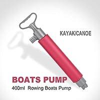 Bomba de mano, bomba de kayak, Rojo 46cm bomba de achique bomba manual kayak flotante mano for kayak Rescate bomba de achique, bomba manual de kayak, bomba de mano flotante, accesorios de kayak
