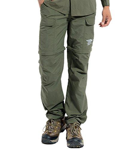 Hilarocky Herren Mann Wasserdicht Winddicht Schnelltrocknende Hose Outdoorhose Wanderhose (Wasserdichte Hose)