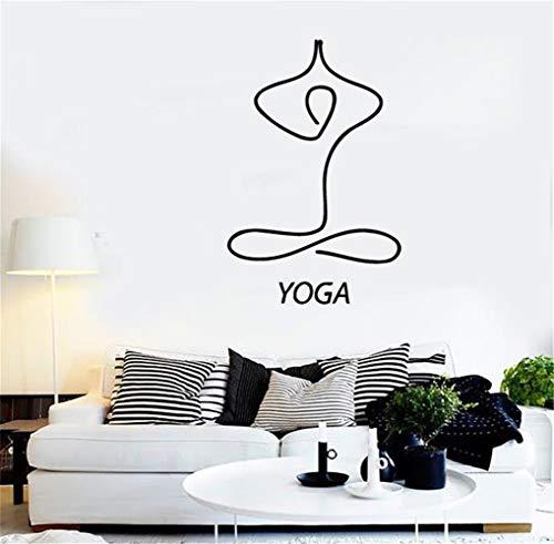 Yoga-Entspannungsmeditation Lotus For Lounge Wandaufkleber Kinderzimmer