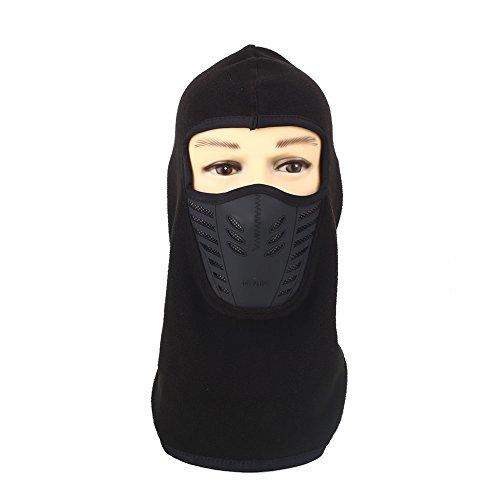 Beautyrain 1 Stück Herbst und Winter Outdoor Reitsport Maske / Gesichtsmaske Outdoor-Schutz-Kopftuch Blau / Orange / Rose / Grau / Braun / Schwarz (Männer Mit Turban Stirnband)
