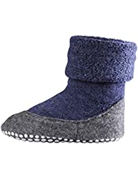 Falke rutschfeste Cosyshoe Socken für Kinder und Baby - 90% Schurwolle - Hausschuhe mit anti-rutsch ABS Sohle - Größe 23 - 38 - versch. Farben