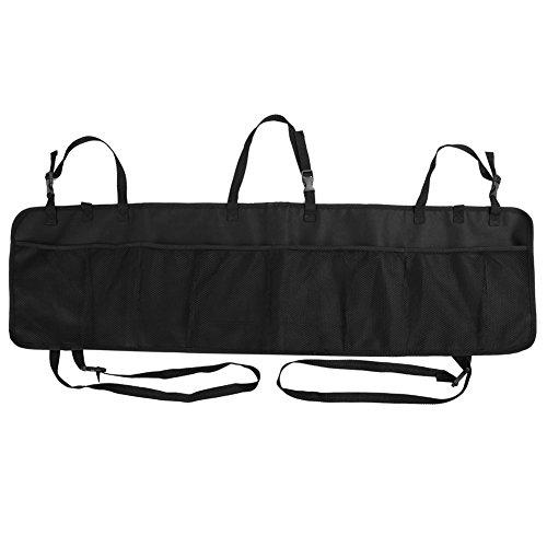Organizzatore di auto rimovibile tronco Rupse Organizzatore Backseat Storage multi-tasca grandi capacità borsa Seggiolino pieghevole maglia titolare Pouch per conservare il cibo giocattolo da bambini libri e strumenti-